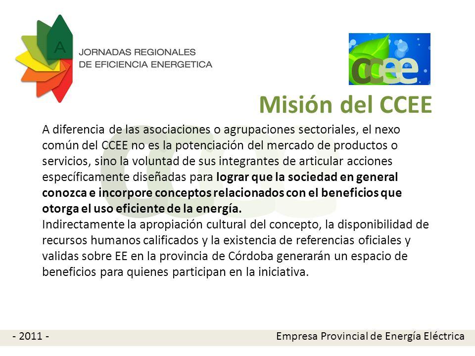 e c. Misión del CCEE.