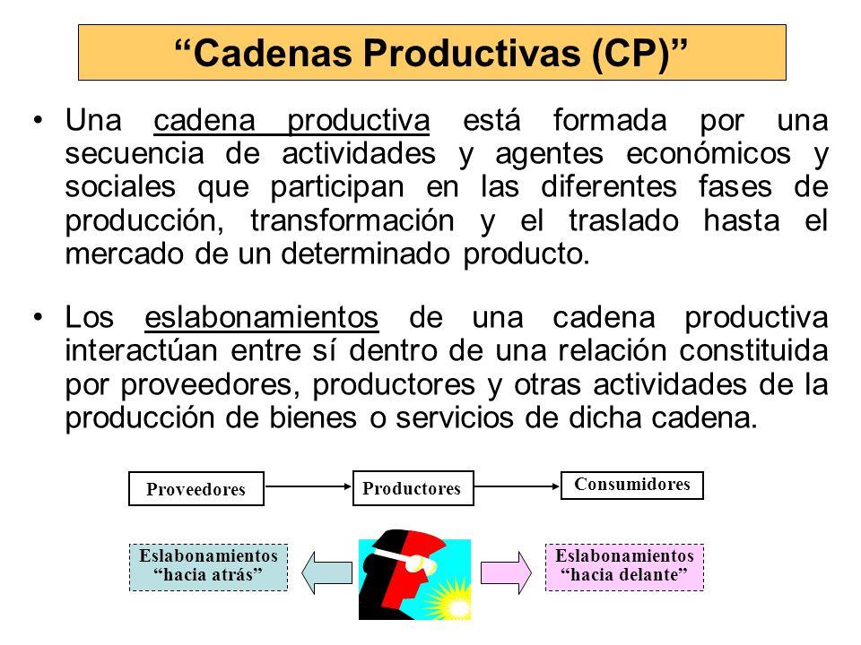 Cadenas Productivas (CP)