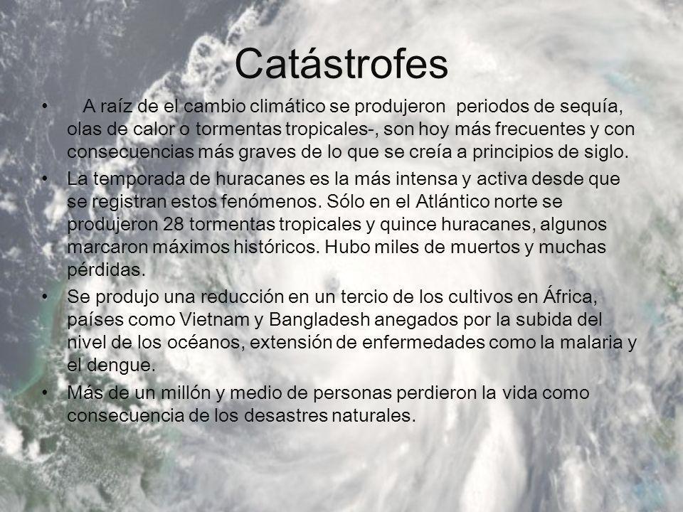 Catástrofes