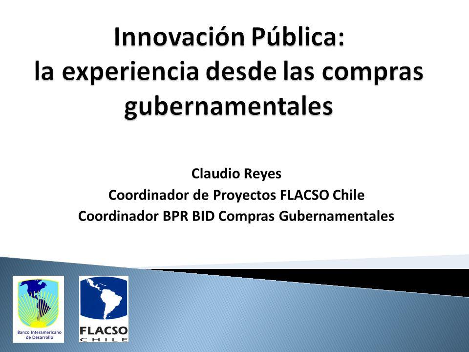 Innovación Pública: la experiencia desde las compras gubernamentales