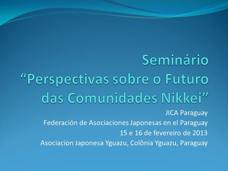 Seminário Perspectivas sobre o Futuro das Comunidades Nikkei