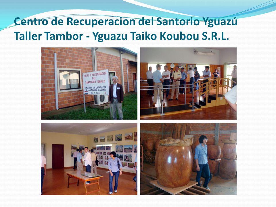 Centro de Recuperacion del Santorio Yguazú Taller Tambor - Yguazu Taiko Koubou S.R.L.