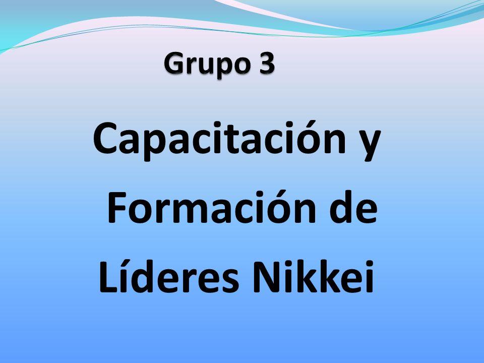 Capacitación y Formación de Líderes Nikkei