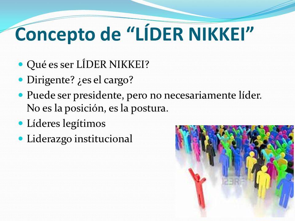 Concepto de LÍDER NIKKEI