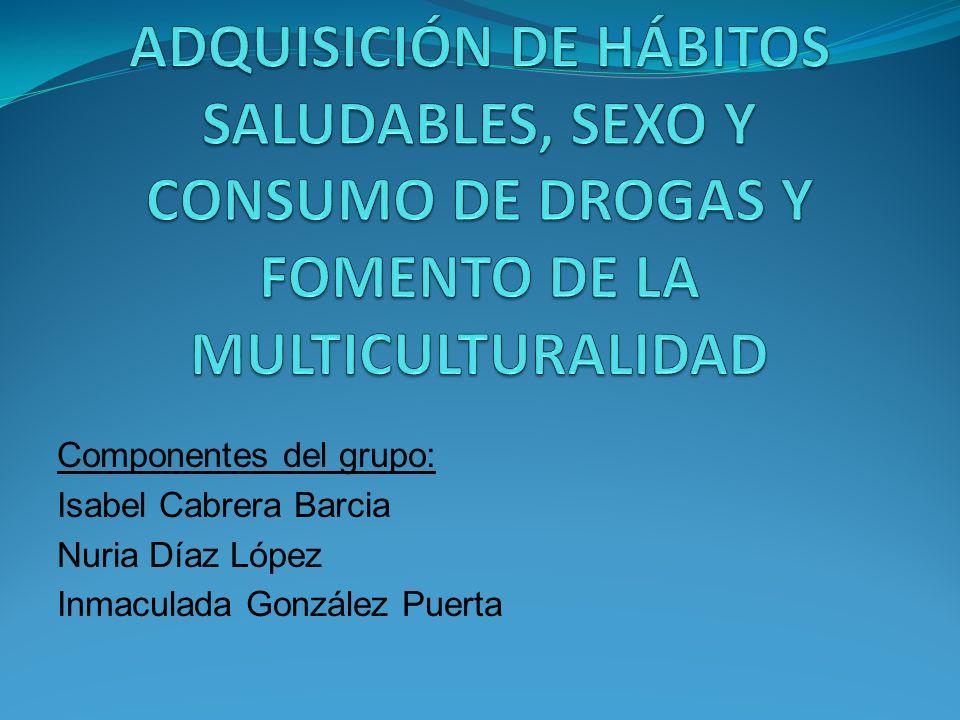 PROYECTO PARA LA ADQUISICIÓN DE HÁBITOS SALUDABLES, SEXO Y CONSUMO DE DROGAS Y FOMENTO DE LA MULTICULTURALIDAD