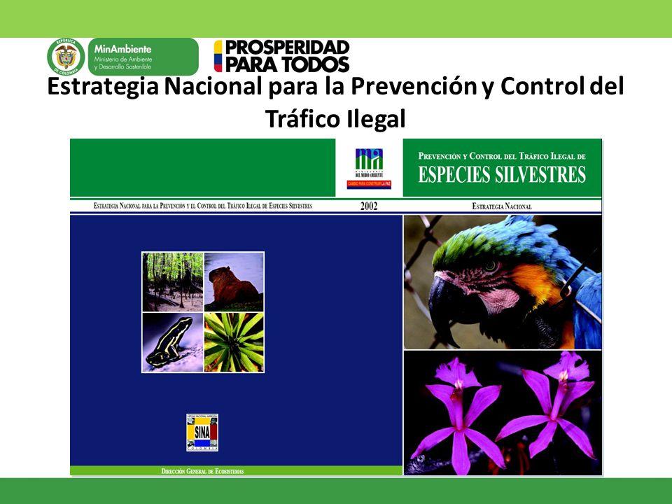 Estrategia Nacional para la Prevención y Control del Tráfico Ilegal