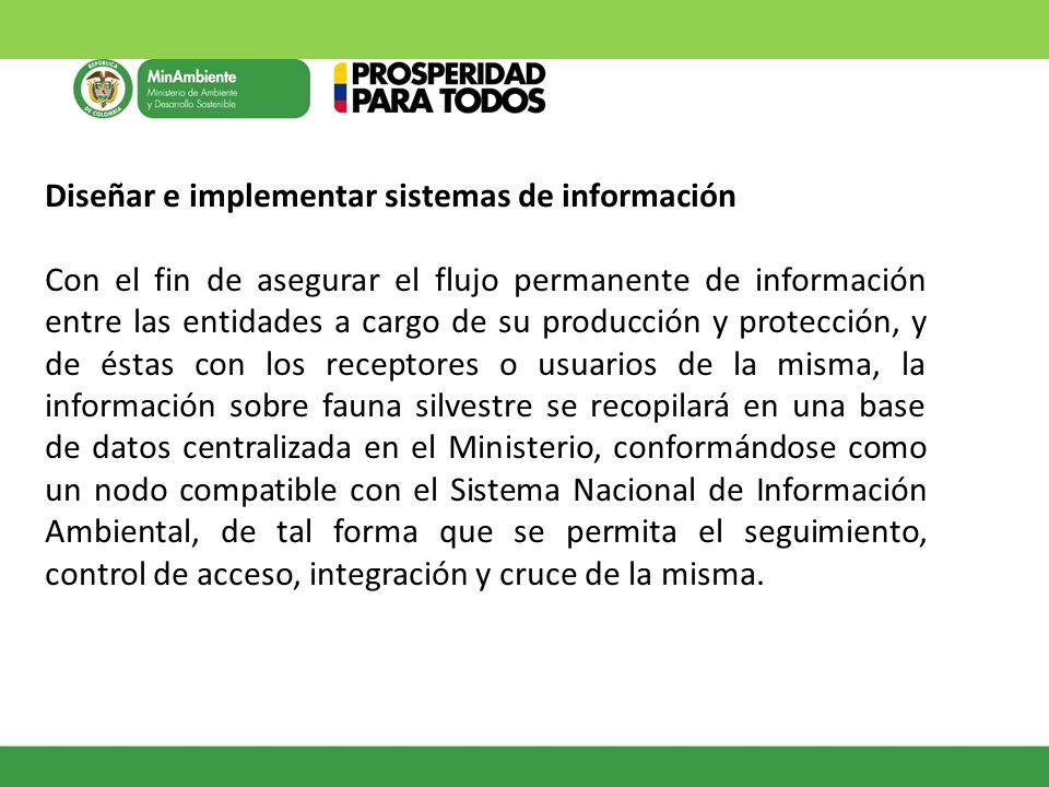 Diseñar e implementar sistemas de información
