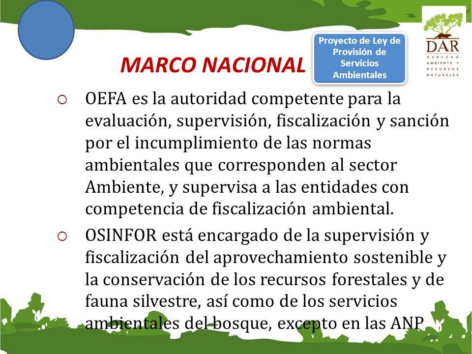 Proyecto de Ley de Provisión de Servicios Ambientales