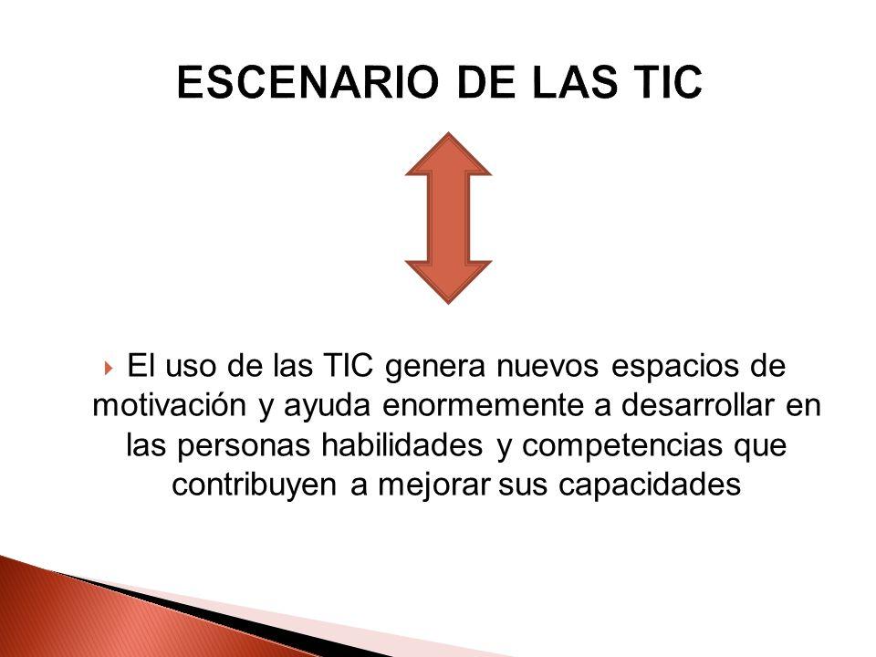 ESCENARIO DE LAS TIC