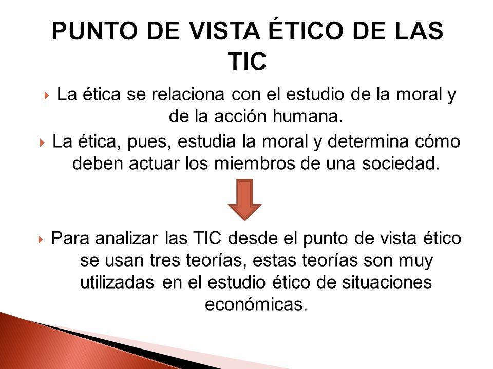 PUNTO DE VISTA ÉTICO DE LAS TIC