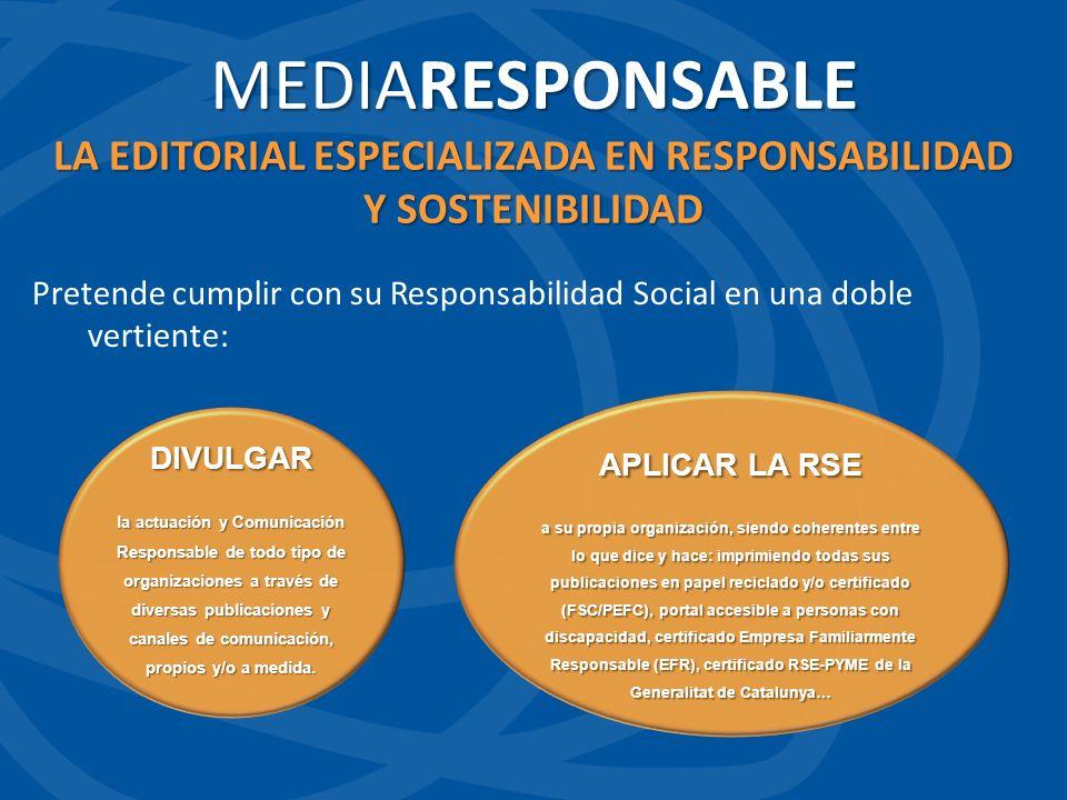 LA EDITORIAL ESPECIALIZADA EN RESPONSABILIDAD