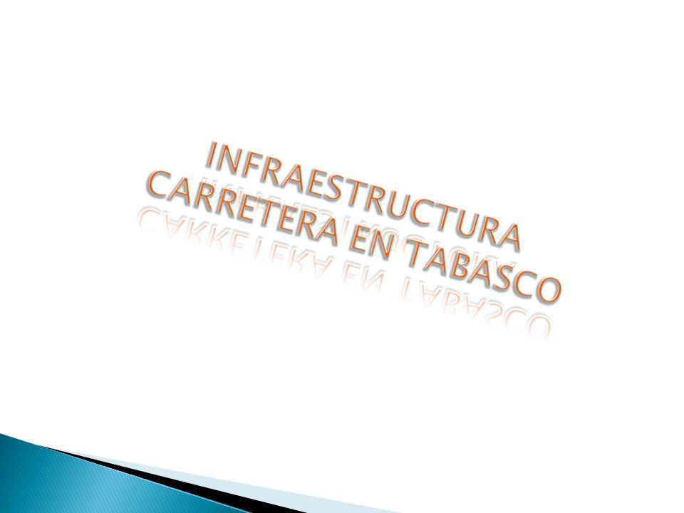 INFRAESTRUCTURA CARRETERA EN TABASCO