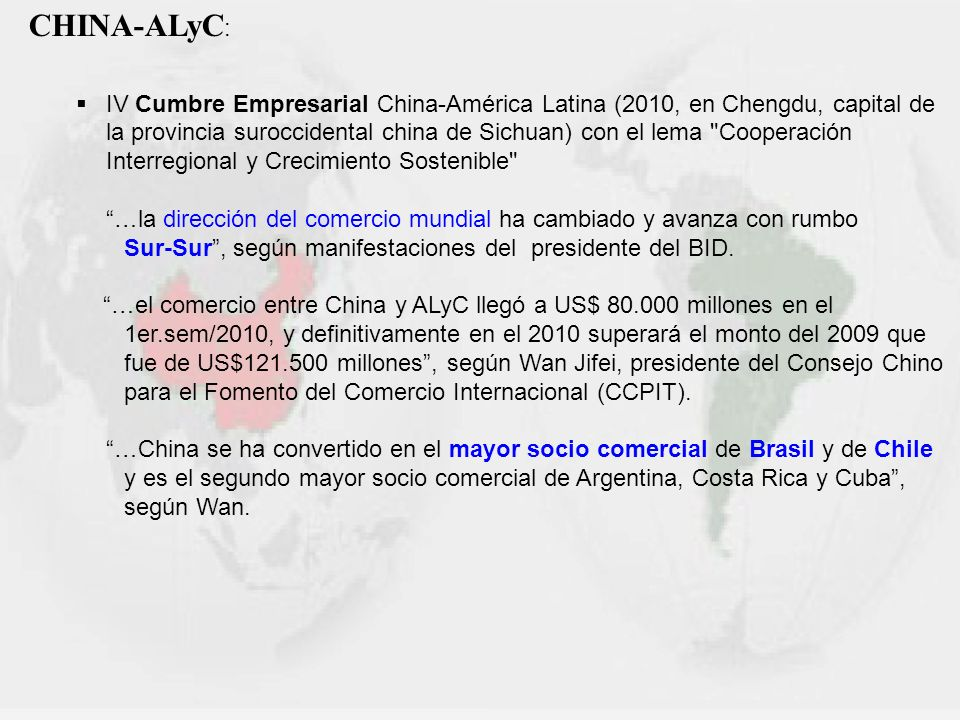 CHINA-ALyC: