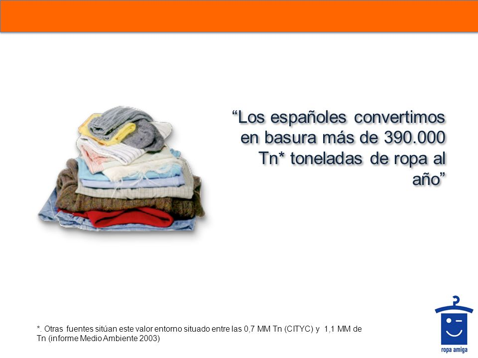 Los españoles convertimos en basura más de 390. 000 Tn