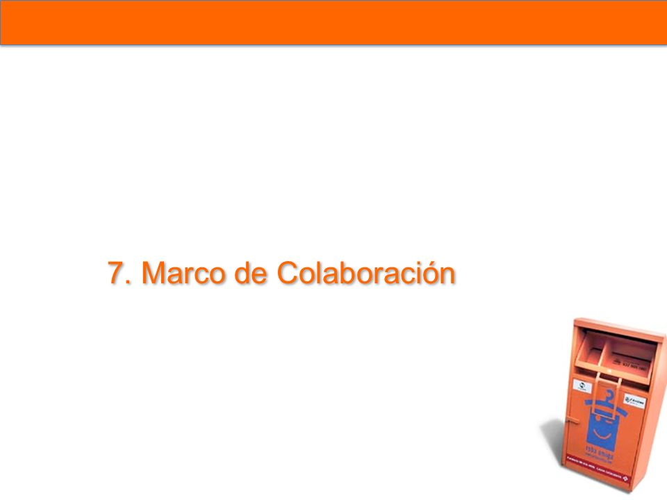 7. Marco de Colaboración