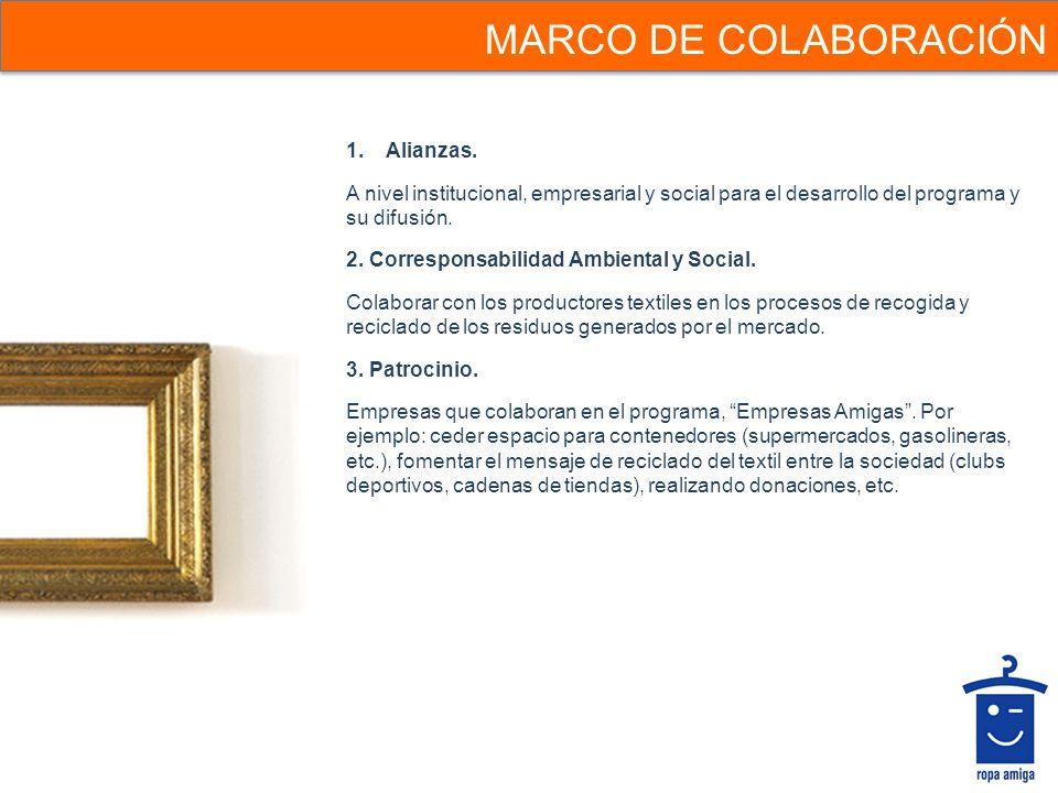 MARCO DE COLABORACIÓN Alianzas.