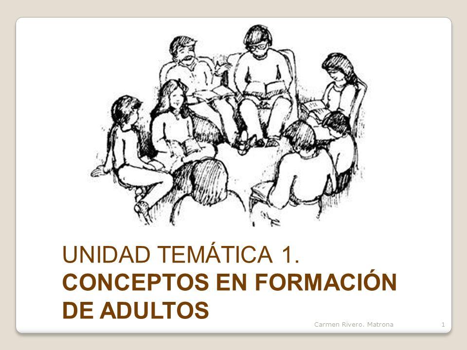 CONCEPTOS EN FORMACIÓN DE ADULTOS