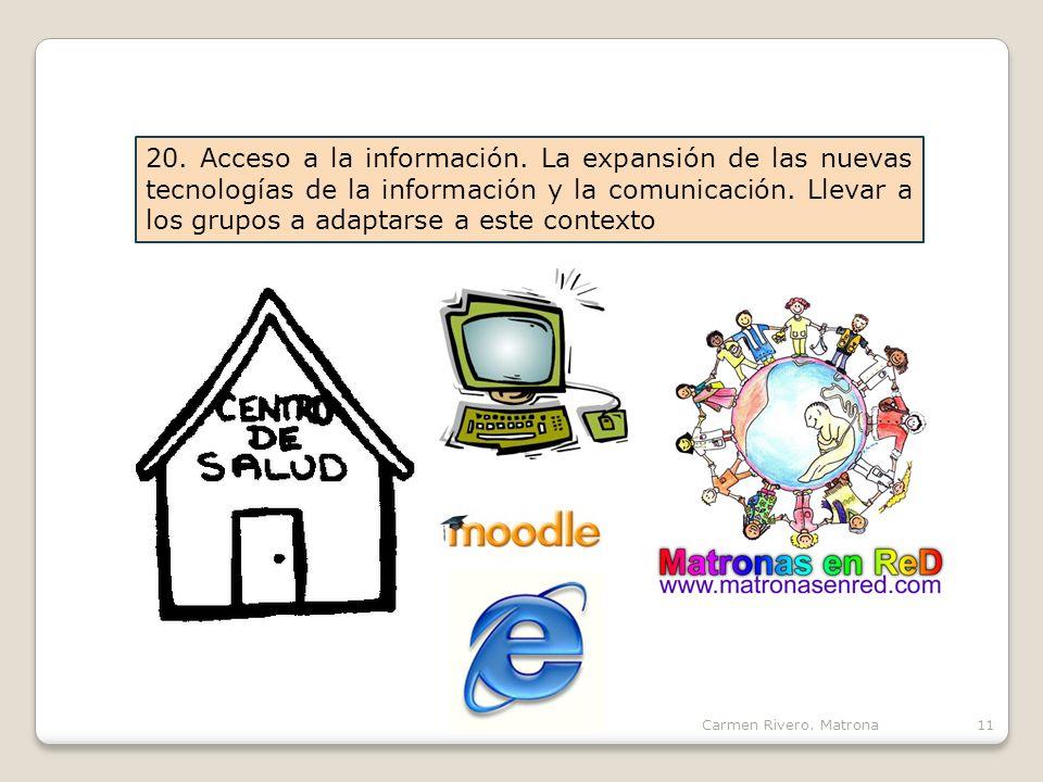 20. Acceso a la información