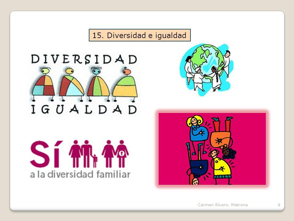15. Diversidad e igualdad Carmen Rivero. Matrona