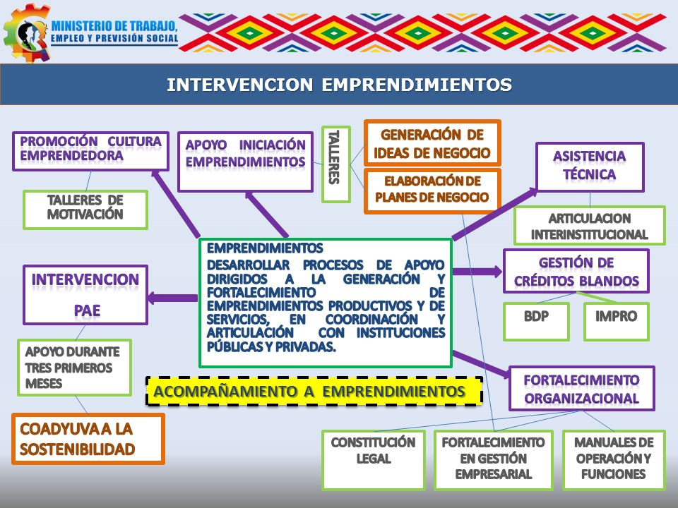 INTERVENCION EMPRENDIMIENTOS