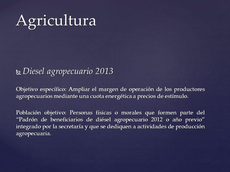 Agricultura Diesel agropecuario 2013