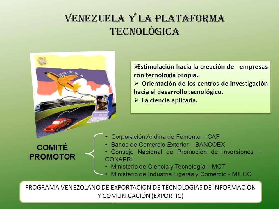 Venezuela y la plataforma tecnológica