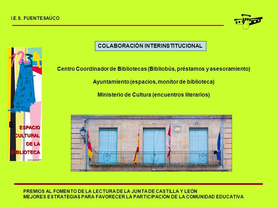 E COLABORACIÓN INTERINSTITUCIONAL