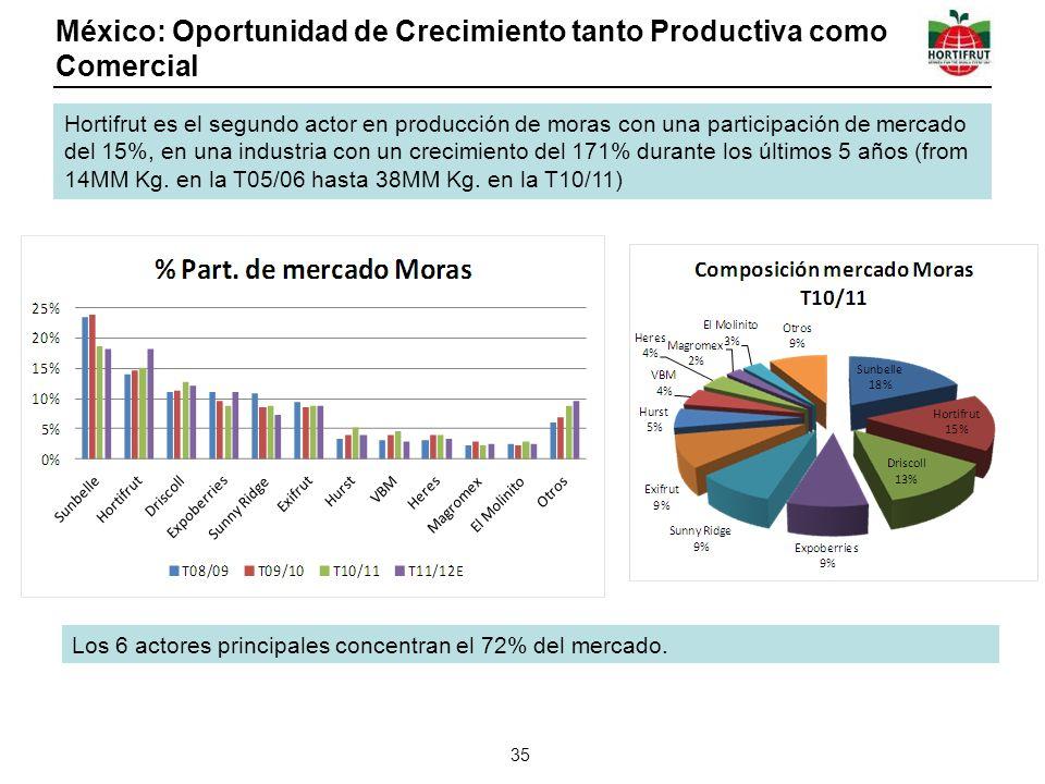 México: Oportunidad de Crecimiento tanto Productiva como Comercial