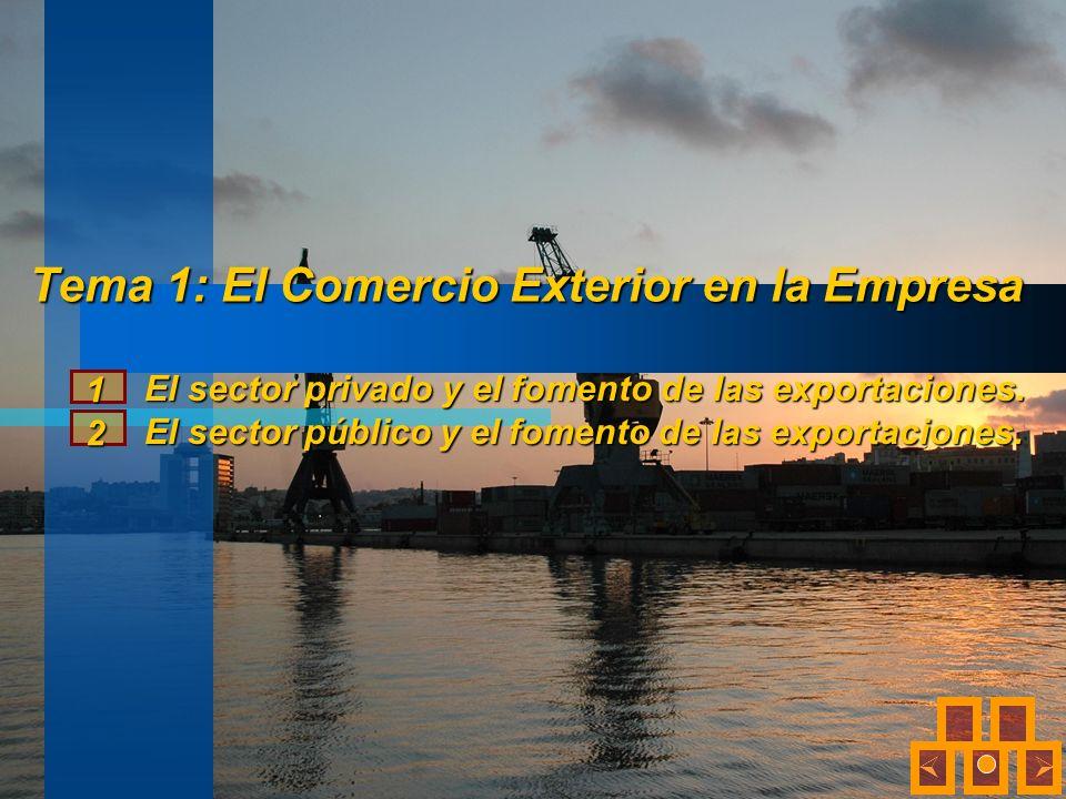 Tema 1: El Comercio Exterior en la Empresa