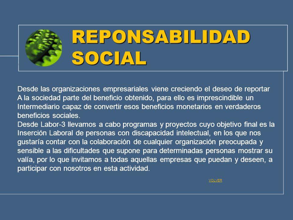 REPONSABILIDAD SOCIAL