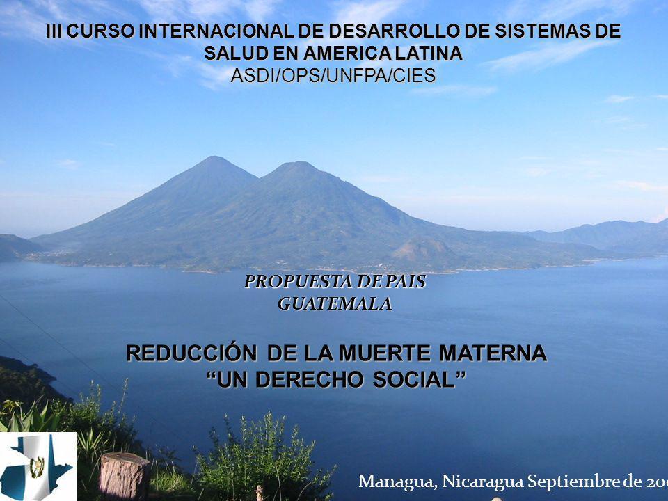 Managua, Nicaragua Septiembre de 2007