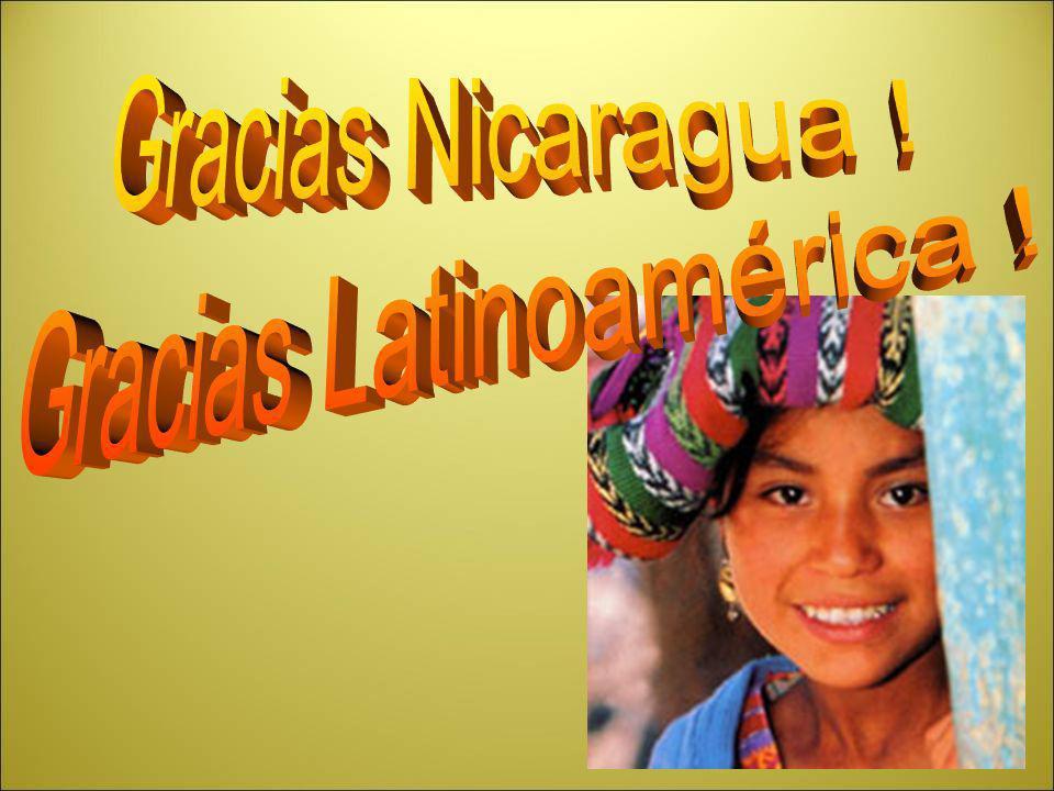 Gracias Latinoamérica !