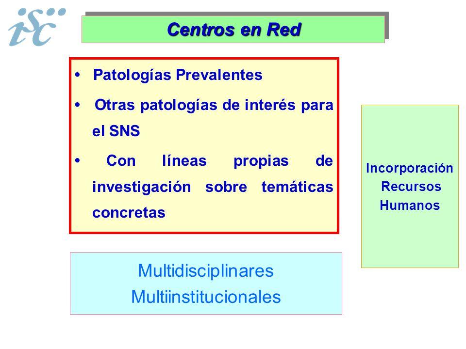 Multiinstitucionales