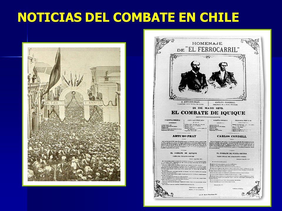 NOTICIAS DEL COMBATE EN CHILE