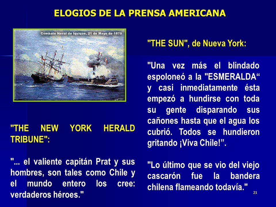 ELOGIOS DE LA PRENSA AMERICANA