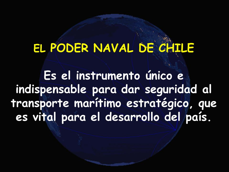 EL PODER NAVAL DE CHILE