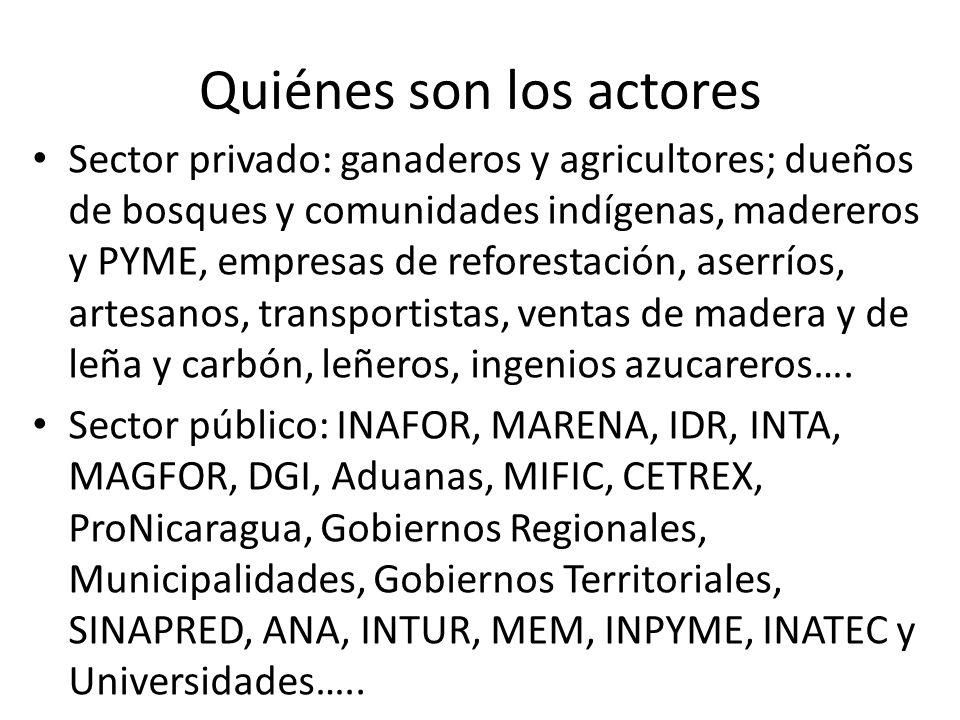 Quiénes son los actores