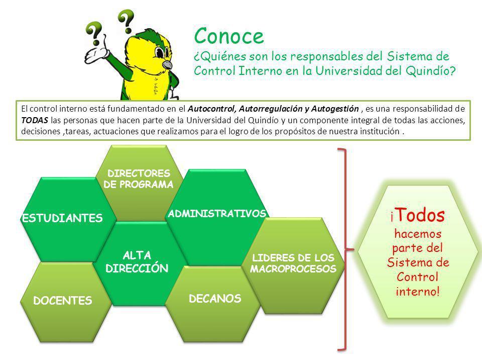 DIRECTORES DE PROGRAMA LIDERES DE LOS MACROPROCESOS