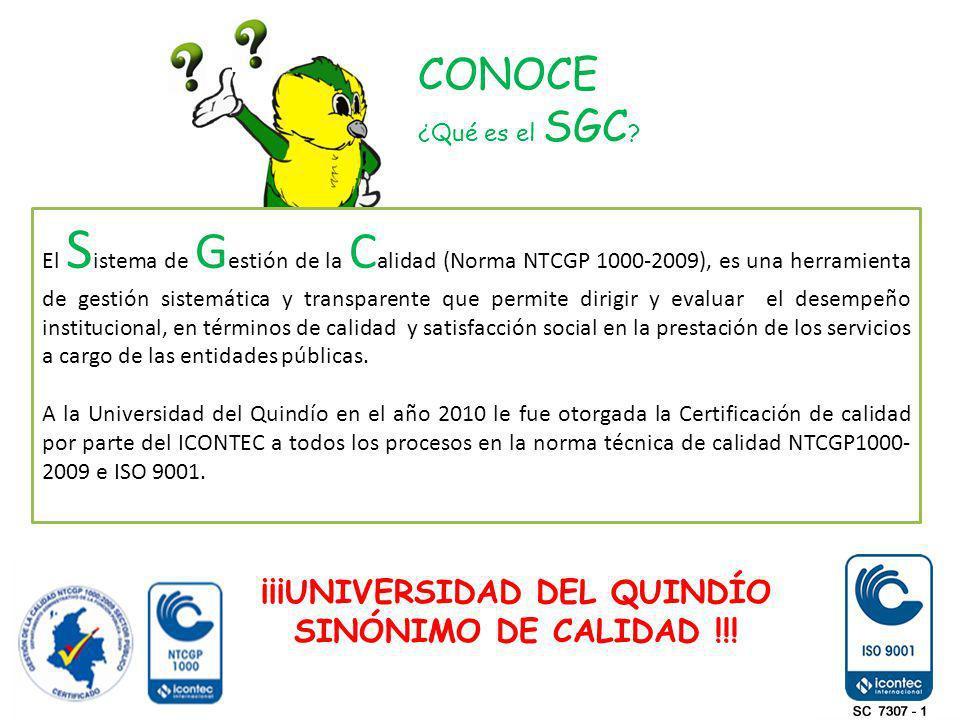 ¡¡¡UNIVERSIDAD DEL QUINDÍO SINÓNIMO DE CALIDAD !!!