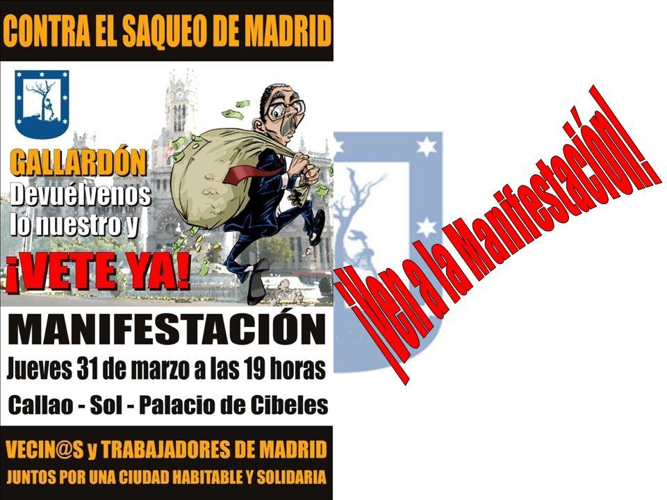 ¡Ven a la Manifestación!