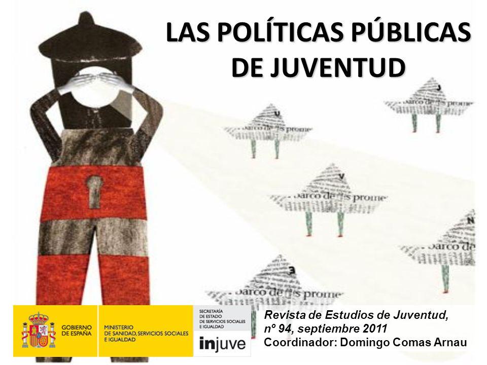 LAS POLÍTICAS PÚBLICAS DE JUVENTUD