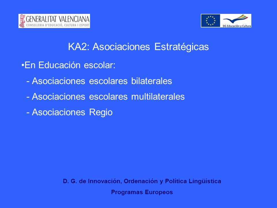KA2: Asociaciones Estratégicas