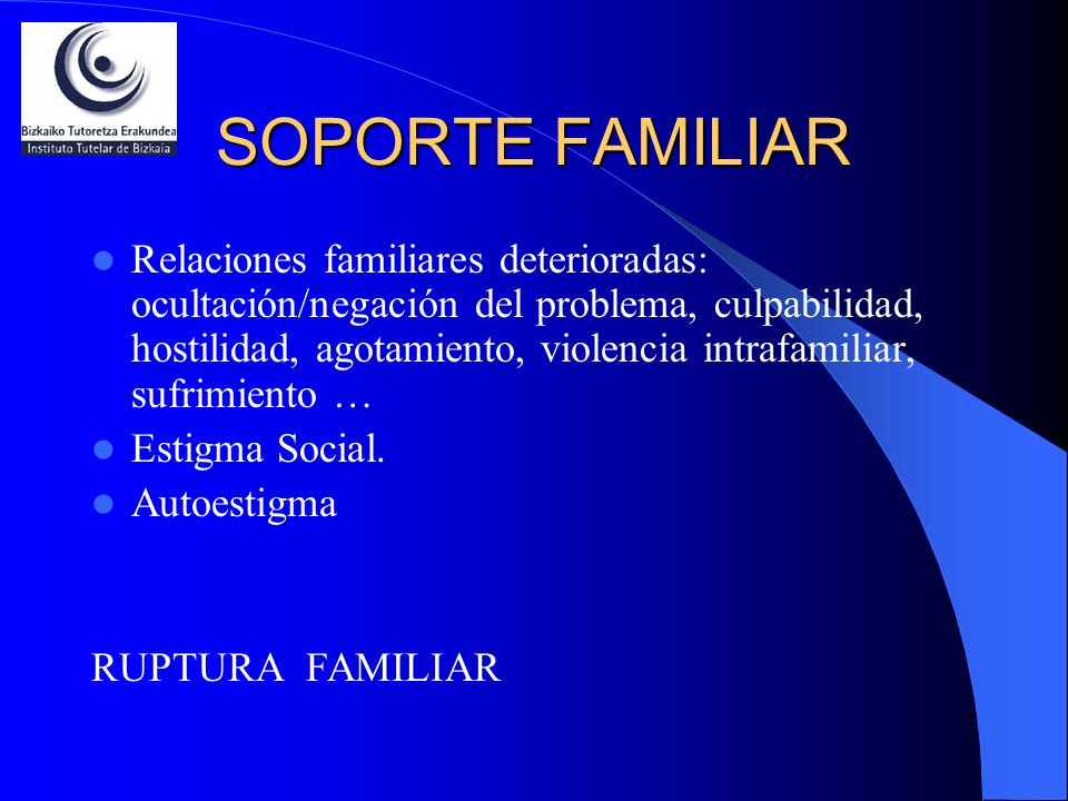 SOPORTE FAMILIAR