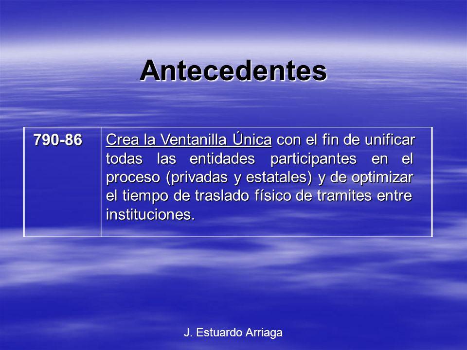 Antecedentes 790-86.