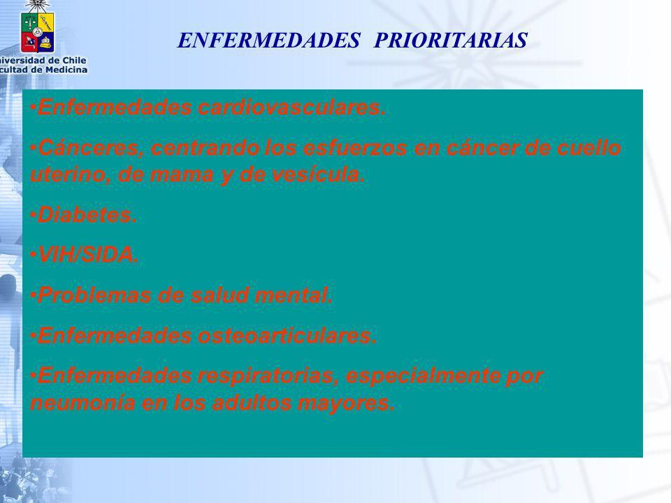 ENFERMEDADES PRIORITARIAS