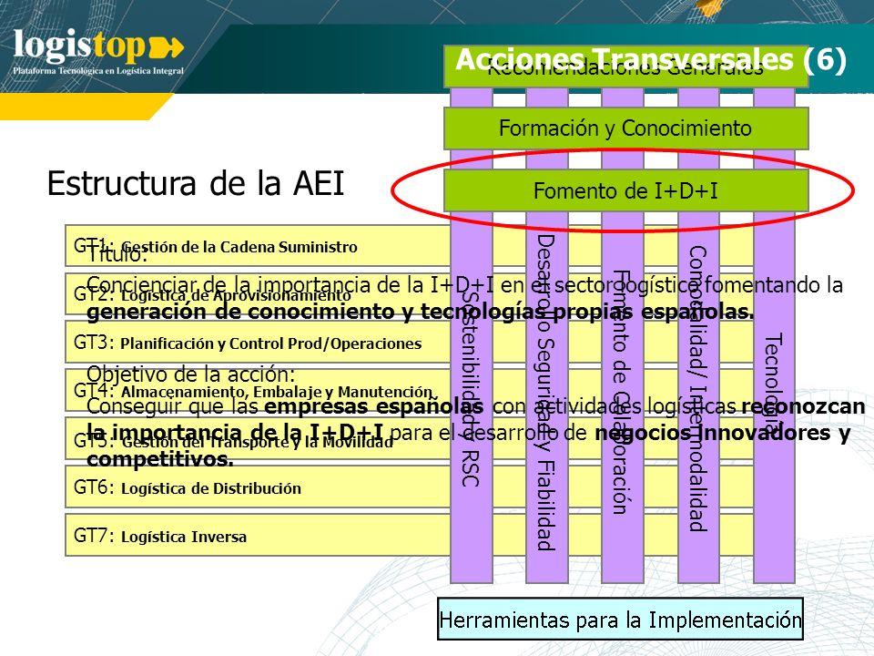 Estructura de la AEI Acciones Transversales (6)