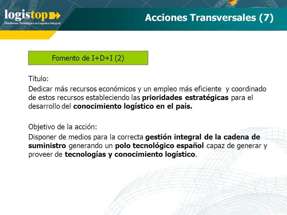Acciones Transversales (7)