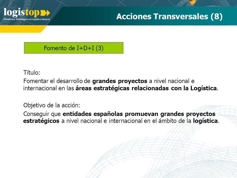 Acciones Transversales (8)
