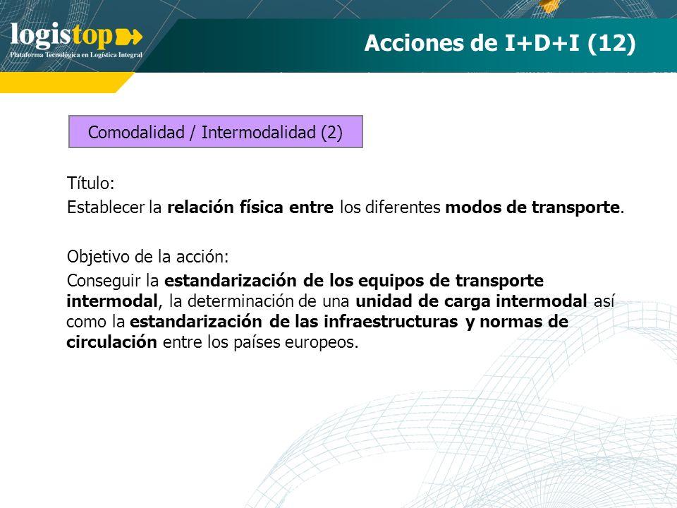 Comodalidad / Intermodalidad (2)