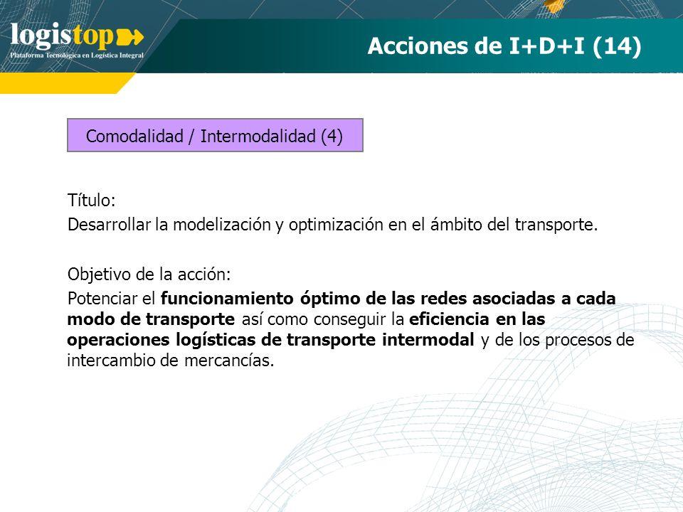 Comodalidad / Intermodalidad (4)